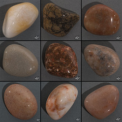 Favorites From My Second Batch of Tumbled Rocks, Set 3 (+15 insets and 10 notes!)