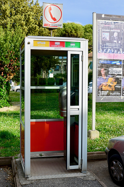 Fano 2017 – Telephone box