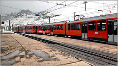 Zermatt : ecco un treno speciale nelle alpi svizzere