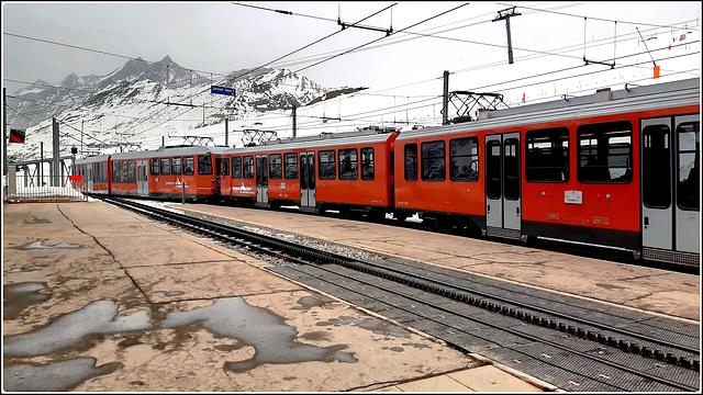 Zermatt : ecco il treno panoramico speciale nelle alpi svizzere