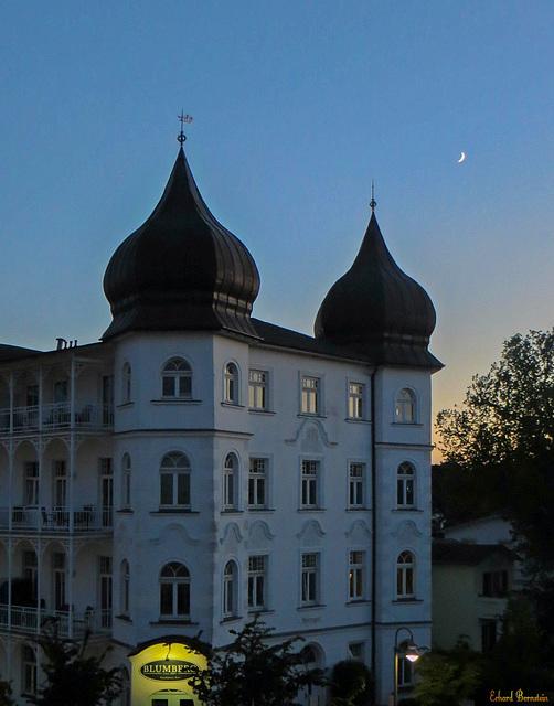 Der Mond über Binz