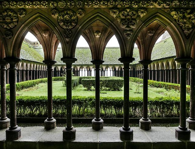 Kreuzgang der Abtei