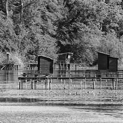Traditional Fishing Huts