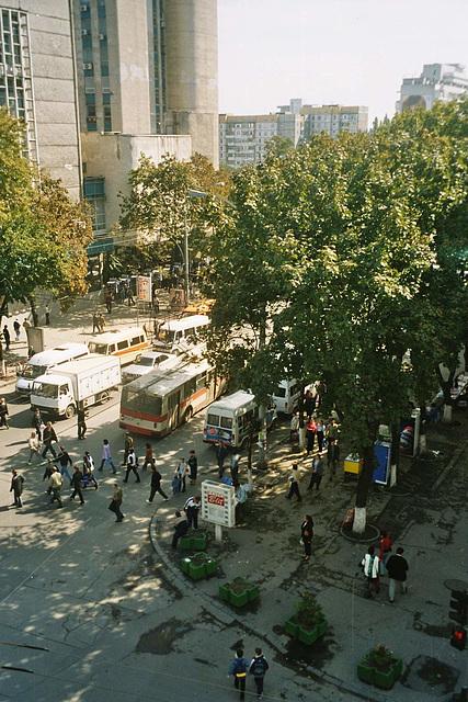 MD - Chișinău - corner at Tighina and Ștefan cel Mare