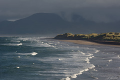 Storm lighting at Rossbeigh.