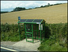 Dorset green bus shelter