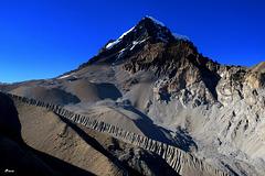 Moraine d'un ancien glacier