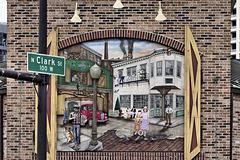 A Sign of Nostalgia – Portillo's Hot Dog Restaurant, West Ontario Street at North Clark Street, Chicago, Illinois, United States