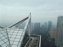 High over Tokyo