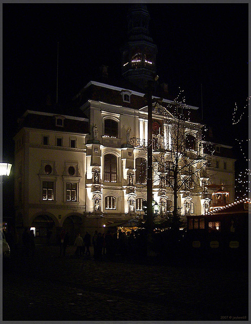 Lüneburger Rathaus zum Advent