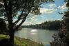 The lake at Blenheim Palace