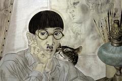 Léonard-Tsuguharu Foujita - Portrait de l'artiste