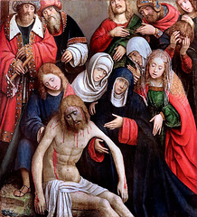 IMG 1114B Defendente Ferrari  1480-1595  La Déposition de Croix. The Deposition of the Cross  1507 Brou Musée du Monastère Royal