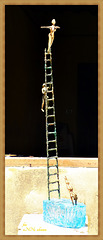 Turmspringer - Tower diver  (4 x PiP)