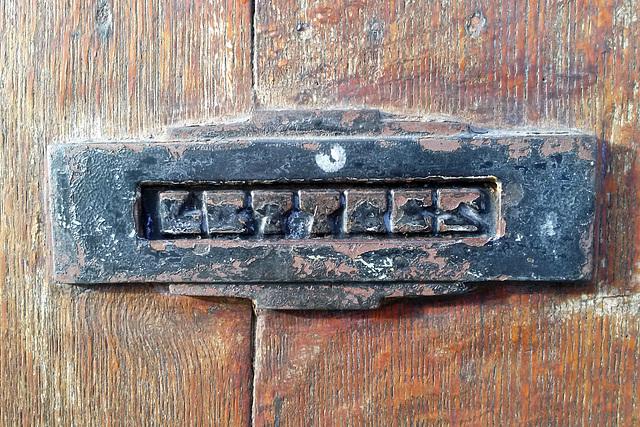Bergen 2015 – Lettres