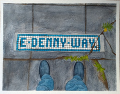 East Denny Way 14x11in
