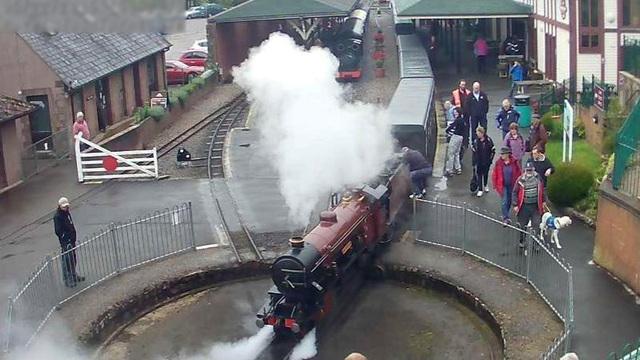 Webcam: Ravenglass and Eskdale Railway