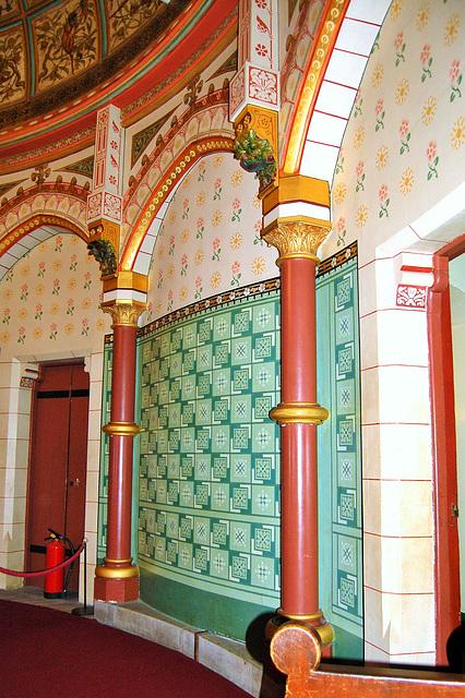 Lady Bute's Bedroom, Castell Coch, Glamorgan, Wales