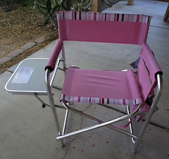 Pink Camp Chair (1772)