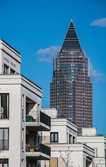 Frankfurt: Der Messeturm