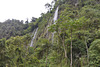 Bolivia, North Yungas Road (Death Road), Cascade of Waterfalls