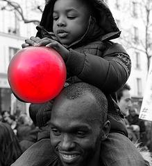 ♥ Le ballon rouge de CHARLIE ♥