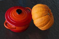 87/365 le creuset and pumpkin