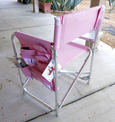 Pink Camp Chair (1783)