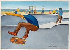 Skater 14x11in