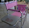 Pink Camp Chair (1784)