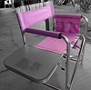 Pink Camp Chair (1784A)