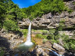 Cascata delle Aquile - Torrente Lecca