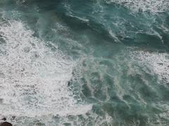 churning ocean