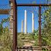 3 chimneys in the door - HFF!