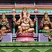 Shrine at the Sankat Mochan Temple