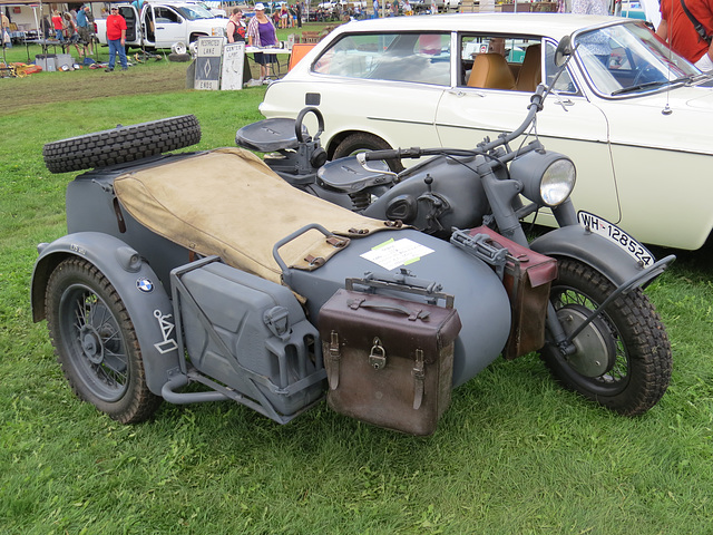 1941 BMW R-75 Military Motorcycle