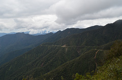 Bolivia, North Yungas Road (Death Road)