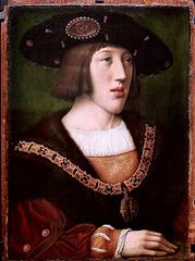 IMG 1117A Barend van Orley. 1488-1551. Bruxelles.  Portrait de Charles Quint. Portrait of Charles V  vers 1516.  Brou.  Musée du Monastère Royal