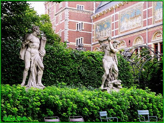 Les jardins du Rijskmuseum !