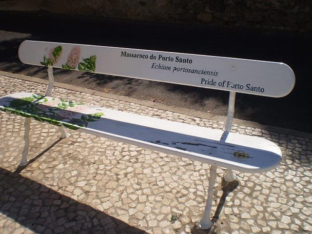 Massaroco bench.