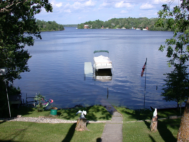 The year the lake runneth over