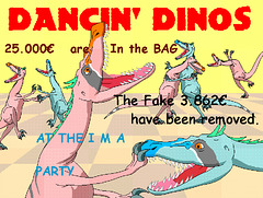 Dinos Dancing celebrate