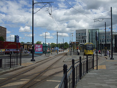 DSCF0490 Manchester Metrolink car set 3080 in Rochdale -  4 Jul 2016
