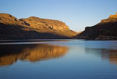 Sunrise on Apache Lake