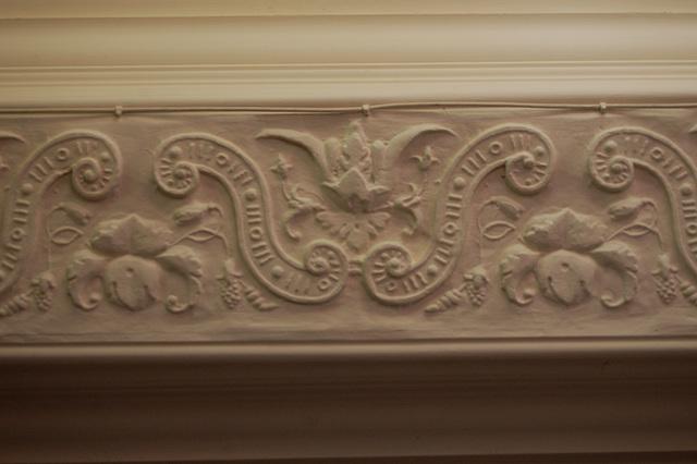 Plasterwork Detail, North Lees Hall, Derbyshire
