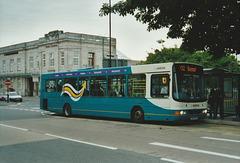Arriva Cymru CX54 EPO in Aberystwyth - 28 Jul 2007