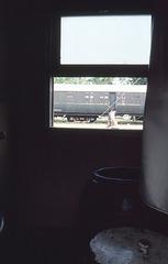 Waschgelegenheit im Zug nach Bankok 1981
