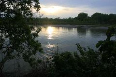 The Sacramento at Sunset