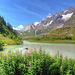 Il lago del Combal, Val Veny
