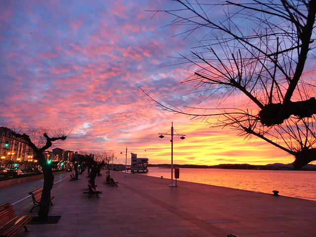 Cuando amanece.Santander.